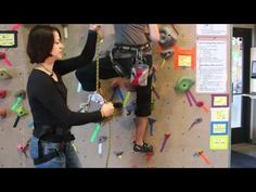 How to Top Rope Belay - YouTube