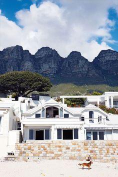 Wood-clad bungalow on Cape Town's Bakoven beach
