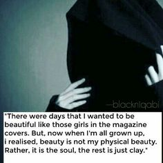 """every time you watch that mirror, Isn't this """"clay"""" beautiful and attractive? Advice Quotes, Life Quotes, Hijab Quotes, Bubble Quotes, I Will Remember You, Islam Women, All About Islam, Islam Religion, Islamic World"""