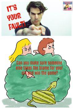 Fall of Man Game #SundaySchool #kidmin #Biblegame
