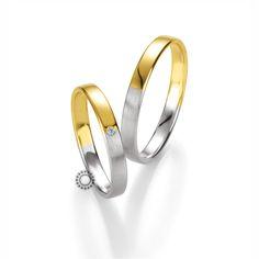 Βέρες γάμου BENZ 037 & 038 - Ανατομικές βέρες Benz, κλασικές στο σχέδιο με πρωτότυπο συνδυασμό χρώματος & φινιρίσματος | ΤΣΑΛΔΑΡΗΣ #βέρες #βερες #γάμου