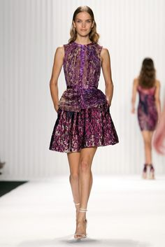 Purples & Print: J. Mendel RTW Spring 2013 - Runway, Fashion Week, Reviews and Slideshows - WWD.com #NYFW #MBFW #falltrends
