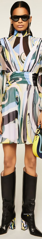 Emilio Pucci Pre-Fall 2020 All Fashion, Fashion Brands, Emilio Pucci, Most Beautiful, Trends, Couture, Fall, Casual, People