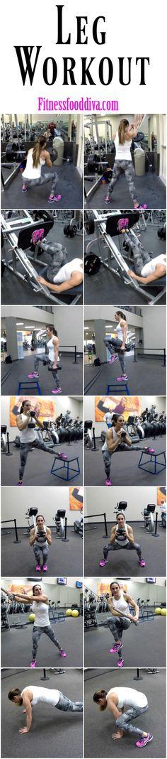 Free Leg Workout | Fitness Food Diva
