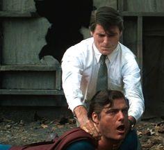 Clark Kent (Christopher Reeve) vs. Evil Superman/Bizarro (Superman III) (1983)