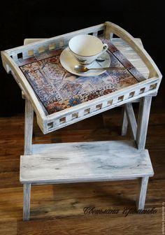 Купить Преображение - табуретка-ступенька, стульчик, дизайн интерьера…