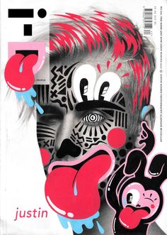 Fun Magazine Cover Doodle Art by Ana Strumpf & Hattie Stewart
