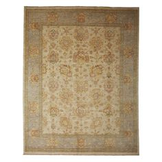 """Oushak Collection Oriental Rug, 8'3"""" x 10'6"""""""