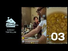Michelin-starred chef Massimo Bottura has found a new way to delight his fans: by streaming his family meals on Instagram - Kitchen Quarantine. Tortellini, Fun Drinks, Family Meals, Things To Think About, Fans, Kitchen, Instagram, Cooking, Home Kitchens