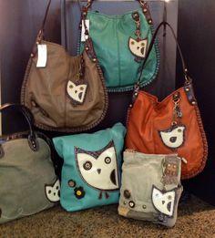 New owl handbags