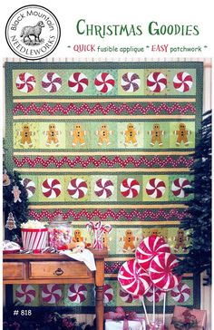 Black Mountain Needleworks patterns by Teri Christopherson Christmas Quilt Patterns, Christmas Sewing, Christmas Goodies, Christmas Shopping, Christmas Quilting, Christmas Sweets, Christmas Recipes, Crafts To Do, Crafts For Kids