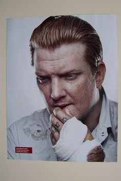 Josh Homme Queens of The Stone Age Magazine Poster | eBay