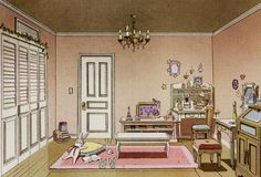 Tsukino Usagi's bedroom concept for Sailor Moon Crystal ヽ(´∀`)ノ