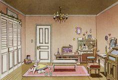 Tsukino Usagi's bedroom concept for Sailor Moon Crystal ヽ(´∀`)ノ