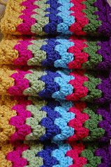 Ravelry: Granny Stripes pattern by Lucy of Attic24 #crochet #stashbuster