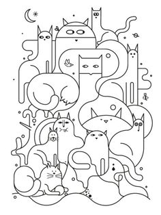 I LOVE this little line drawing!
