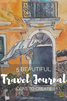 Travel Journals are a great addition to photos from your trip. They are a way to capture personal moments in travel Journals are a great addition to photos from your trip. They are a way to capture personal moments in travel. Travel Journal Scrapbook, Travel Journal Pages, Travel Journals, Travel Books, Travel Album, Art Journal Inspiration, Travel Inspiration, Journal Ideas, Journal Prompts