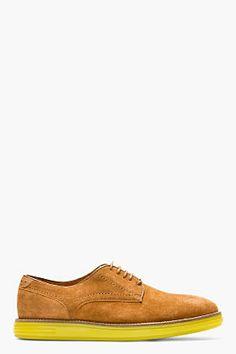 H BY HUDSON Tan Suede Boson Shoes