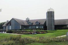Back end of Spikes/Clubhouse overlooking The General golf course in the Galena Territories, Galena, IL ... mid-September