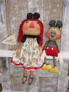 Annie and Mickey