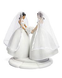 Lesbian Wedding Cake Topper at Gay Wedding Day Shop Wedding Cake Fresh Flowers, Purple Wedding, Dream Wedding, Wedding Day, Wedding Goals, Wedding Things, Wedding Decor, Gay Wedding Cakes, Lesbian Wedding