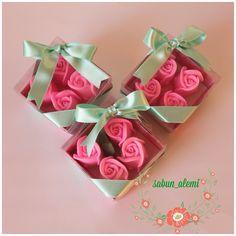 Pembe güller kokulu sabun - soap
