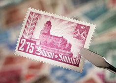 Viipuri-postimerkki. 1941.