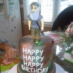 OMG! A Duck Dynasty Si cake!