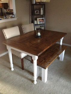 Dining Room Table | Do It Yourself Home Projects from Ana White