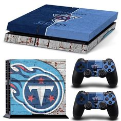 Give your console a great new look with our Tennessee Titans for Sony PlayStation 4 console & controllers. Display your favorite team and elevate your game with our cool and protective Tennessee T Geek Man Cave, Man Cave Diy, Man Cave Gifts, Sports Man Cave, Titans Football, Ps4 Skins, Geek Gear, Tennessee Titans, Girls Rules