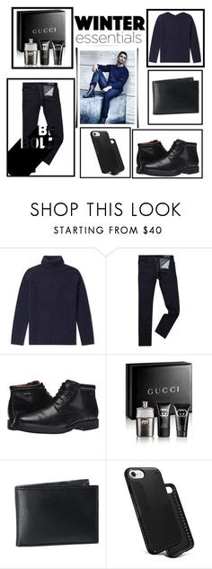 """Get the look:CRISTIANO RONALDO"" by azra612 ❤ liked on Polyvore featuring Diesel, Rockport, Gucci, Black Brown 1826, Speck, men's fashion, menswear, cristianoronaldo, Elegant and CR7"