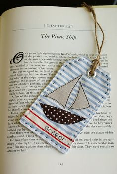 Into a bookmark perhaps?