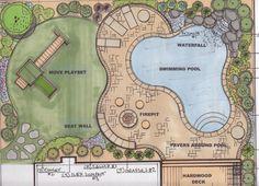 landscape design naturalistic circular