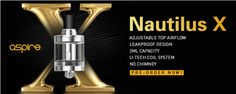 Win! Win! Win! Get 10 Sets of Aspire Nautilus X For Free #vape #giveaway #aspire
