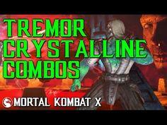 MKX: Ultimate Tremor Crystalline Kombos Mortal Kombat X, Comic Books, Comics, Comic Strips, Comic Book, Cartoons, Cartoons, Graphic Novels, Graphic Novels