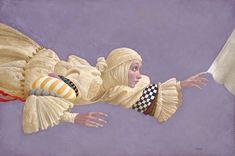 James Christensen - Touching The Hem Of God - Hidden Ridge Gallery