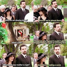 "Oh my goodness  ""You bought your mother a crypt"" #GabbyandCarlosSolis #DesperateHousewives"