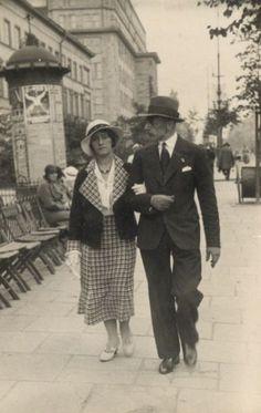 Lucyna Rychter i Jerzy Domański - Warszawa 7.08.1934