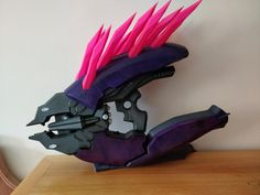 Iconic Needler from HALO printed on Original Prusa i3 Mk2  #toysandgames #prusai3