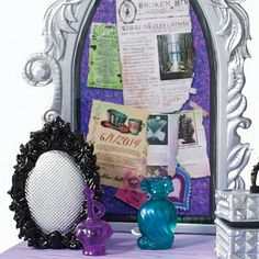 Raven Queen's Destiny Vanity | Flickr - Photo Sharing! Oh my gosh I totally want this! I just wish I had some Ever After High dolls! I only have MH dolls.