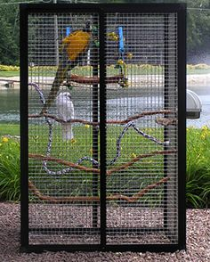 Hybrid design your own bird cage.  How amazing!