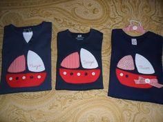 la sastrecilla valiente : camiseta barco niña