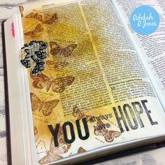 Rebakah Jones Bible Art Journaling Challengg Week 14 #bibleartjournalingchallenge