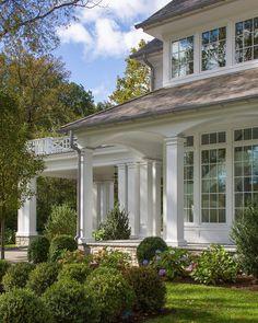 Dream Home Design, My Dream Home, Stone Facade, Dream House Exterior, White Houses, House Goals, Architecture Details, Georgian Architecture, Exterior Design