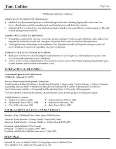 Examples Of Resumes Resume Template Define Objective Job On With Police  Resume Objective Entry Level Police  Police Officer Resume Objective