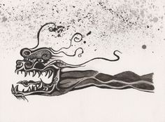 chinese dragon ink - Google Search