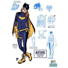 Batgirl's New Uniform May Be The Best Damn Superheroine Outfit Ever ❤ liked on Polyvore featuring dc