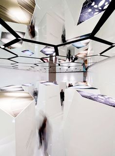 Mirror ceiling installation. #art #installation