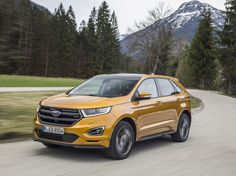 The new Ford Edge Ford's new large SUV, the Edge, has arrived in Ireland. The Ford Edge will sit alongside the Kuga and EcoSport in Ford's . New Ford Edge, Large Suv, France, Prezzo, Future Car, Release Date, New Model, Cool Cars, Automobile