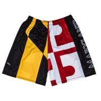 Lightning Wear Mens Maryland Flag Shorts - Custom Maryland Shorts